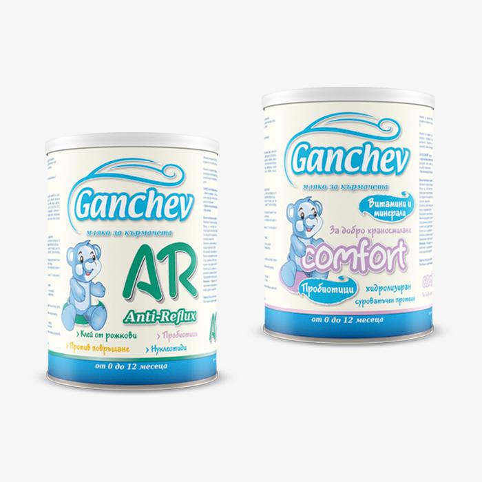 Дизайн на опаковки – сухо мляко